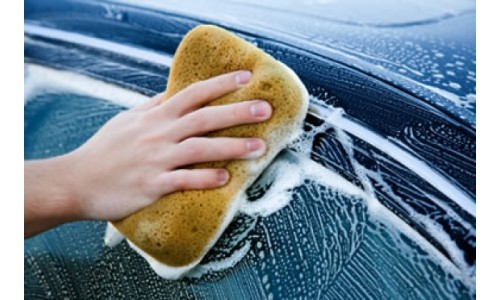 Špongia na umývanie laku