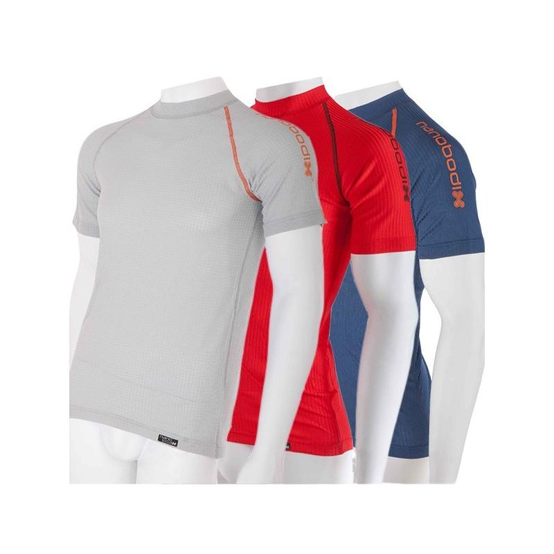 a8c40e108931 Farebné pánske termo tričko Nanobodix Comfort