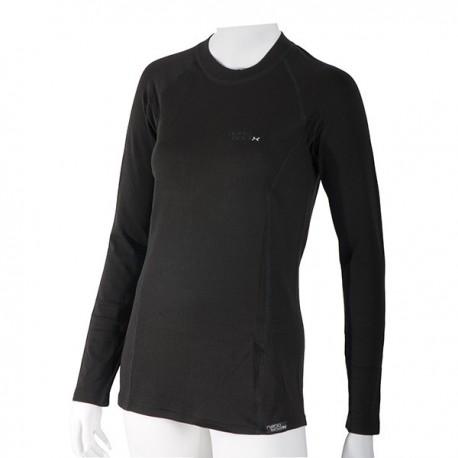 Dámske čierne tričko s dlhým rukávom radu Still