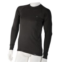 Men's black shirt with long sleeves Still series