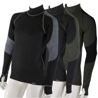 Men's thermo shirt with long sleeves and Merino wool Wooler series