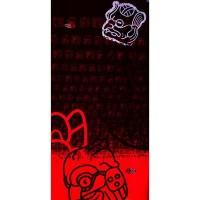 Šatka 4Fun Mask Red