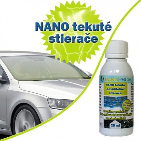 NANO invisible liquid wipers for 1 windscreen 25ml