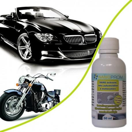 NANO ochrana laku automobilov a motocyklov 50ml