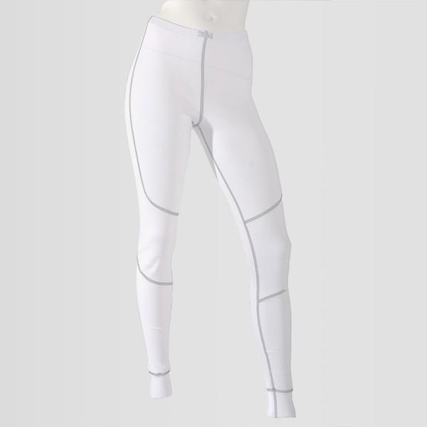 41498d14af1d Dámske biele spodné termonohavice z polypropylénu radu An-Atomic vhodné na  lyžovanie