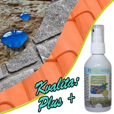 NANO impregnácia pre minerálne povrchy a kameň Kvalita Plus+ 100ml