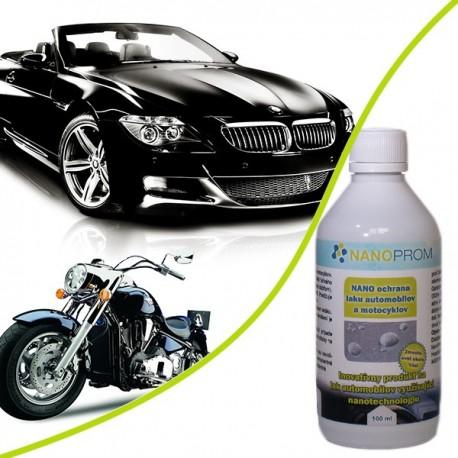 NANO ochrana laku automobilov a motocyklov 100ml