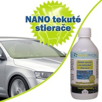 NANO invisible liquid windscreen wipers 100 ml