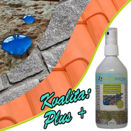 NANO impregnácia pre minerálne povrchy a kameň Kvalita Plus+ 200ml