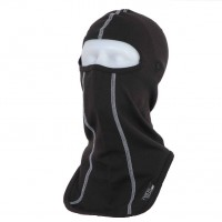 Antibacterial skiing balaclava with special holes for glasses