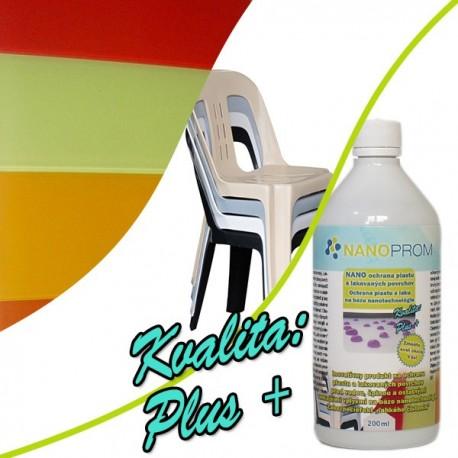 NANO ochrana plastov a lakovaných povrchov Kvalita Plus+ 200ml