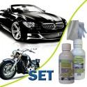 SET - NANO ochrana laku auto-moto 50ml + Abraz. čistič 50ml