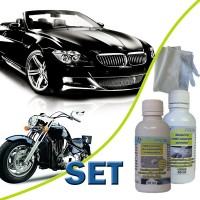 SET - NANO paint protection automoto 50ml + abras. cleaner 50ml