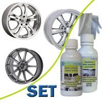 SET - NANO wheel rims protection 50ml + abras. cleaner 50ml