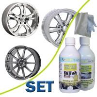 SET - NANO wheel protection 100ml + abras. cleaner 100ml