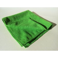 Microfiber cloth Alpin series green/white