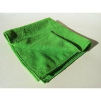Microfiber cloth Alpin series green/white