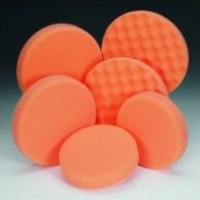 Anti hologramová hubka oranžová priemer 160x30mm