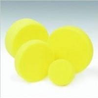 Abrasive sponge medium hard yellow color diameter 160x30mm